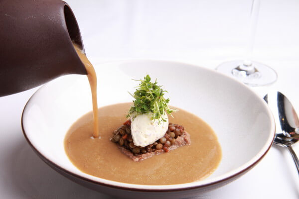 Puy Linsensuppe